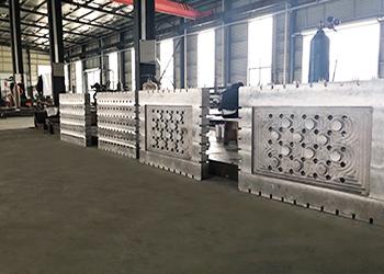 大型铸铝板发货